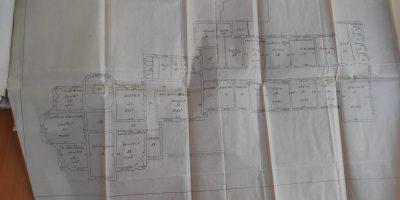 planul casei Profirescu și al corpului 1914