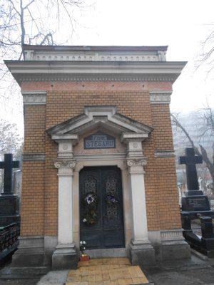 Cavoul familiei Călinescu din Cimitirul Șerban Vodă (Bellu) - fig. 20, loc 12